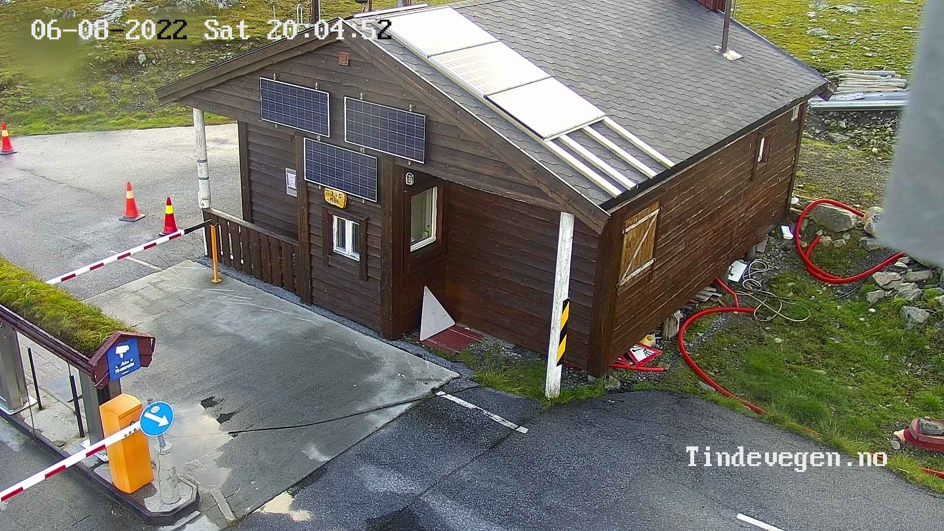 Tindevegen - toll booth
